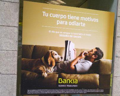 Por qué no me gusta el anuncio de seguros de Bankia