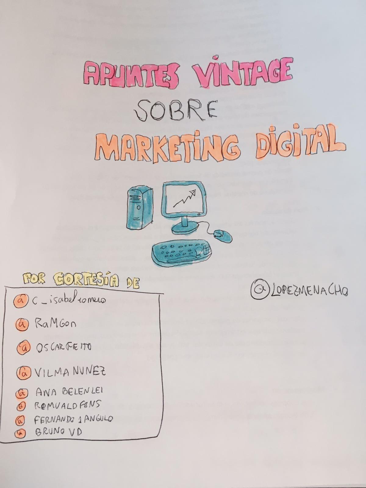 Apuntes vintage sobre Marketing Digital