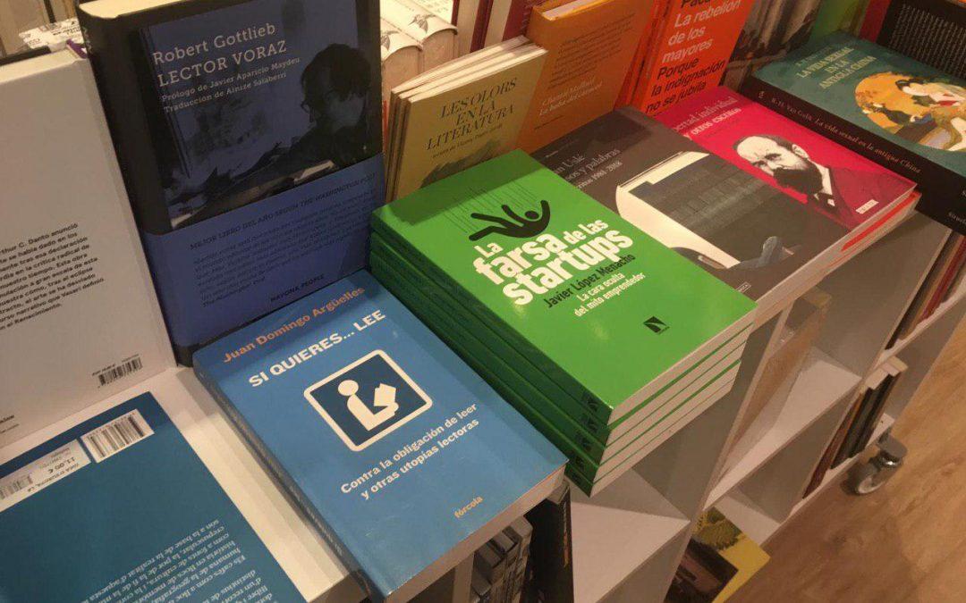 La farsa de las startups llega a las librerías